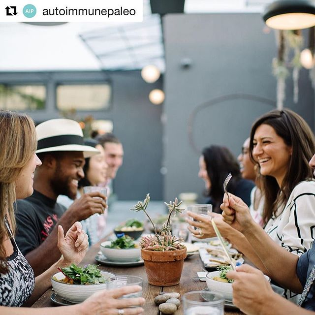 Hey look! It's me! This beautiful photo is printed in @autoimmunepaleo NEW book. I love the ladies behind this project and I love their mission to help millions with Autoimmunity find WELLNESS. Thanks for being inspirations @mickeytrescott @angie.alt @itsme.charlotte @missionheirloom Live link in profile above ・・・ AWH SNEAK PEEK // An Autoimmune-Friendly Social Life⠀ .⠀ Having one or more autoimmune diseases does not have to mean the end of your social life. Seeking healing doesn't mean you're a fuddy-duddy! Socializing can and should remain a priority. It cements the connections to others that are so critical to good health, and it's just plain fun!⠀ .⠀ Here are some ideas from our new book, The Autoimmune Wellness Handbook, for developing an autoimmune-friendly social life:⠀ .⠀ Join a hobby group. Acting, knitting, stamp collecting, birdwatching—the list of options is endless, even if your energy levels need to be conserved.⠀ .⠀ Plan a dinner party, potluck, or picnic. These options allow you to handle the menu or bring your own food, if you have restrictions.⠀ .⠀ 🌲 Go on a nature walk or hike. Nature walks and hikes are great ways to combine connections to nature and people, and you can throw in a resting point, if necessary, to take in the sights and sounds.⠀ .⠀ Join or start a book club. Book clubs are one of the easiest, most inexpensive social activities, while also generally being low-key and generating lots of interesting discussion with others.⠀ .⠀ To see the rest of our list and read more info about balancing healing with a fulfilling social live, pre-order The Autoimmune Wellness Handbook today! It's available for just $15 on Amazon. Live link in profile! #autoimmune #holisticnutrition #autoimmunedisease #foodasmedicine #naturalhealth #autoimmunewellnesshandbook #awh #aip #autoimmuneprotocol #paleo #health #glutenfree #dairyfree #autoimmunepaleo #guthealth #brainhealth #holistichealth #hashimotos #thyroid #chiropractic #nutrition #functionalmedicine #functionalneurology #homeopathy #KANARILife #theKANARILife #helloKOBA #DrNatashaFallahi #DrNatashaF #DrTitusChiu