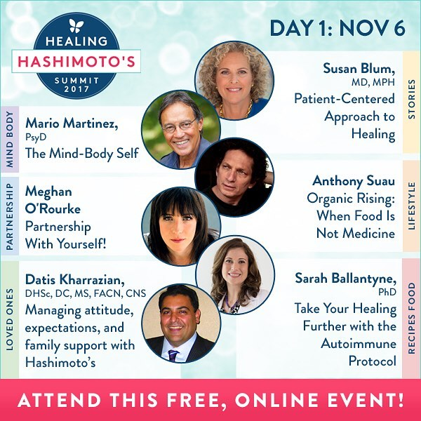 The Healing Hashimoto's Summit 2017 started today! Today @drnatashaf interviewed Dr. Mario Martinez on the MINDBODY track! . Don't miss 39 amazing experts teaching the advice you need to live a happy, healthy life with Hashi's! Learn with me today online for free…link in my profile. . . . #healinghashimotos #hashimotos #autoimmune #thyroid #autoimmuneprotocol #guthealth #brainhealth #gfdf #paleo #aip #diy #brainhacks #documentary #chronicdisease #chronicillness #hsp #sensitive #intuitive #chiropractic #nutrition #functionalmedicine #functionalneurology #homeopathy #KANARILife #CelebrateTheSensitive #TheModernBrain #helloKOBA #DrTitusChiu #DrNatashaFallahi #DrNatashaF